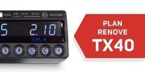 Promocion renove TX40 por TX30