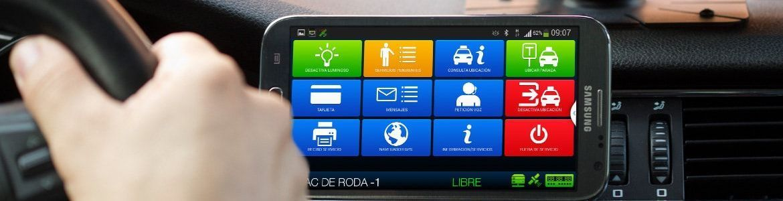 Smart TD, aplicación taxi Barcelona