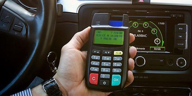 Cobro a credito taxis pin pad