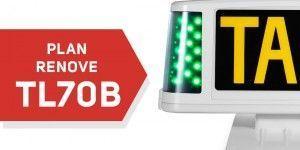 Promocion renove luminoso taxi TL70B